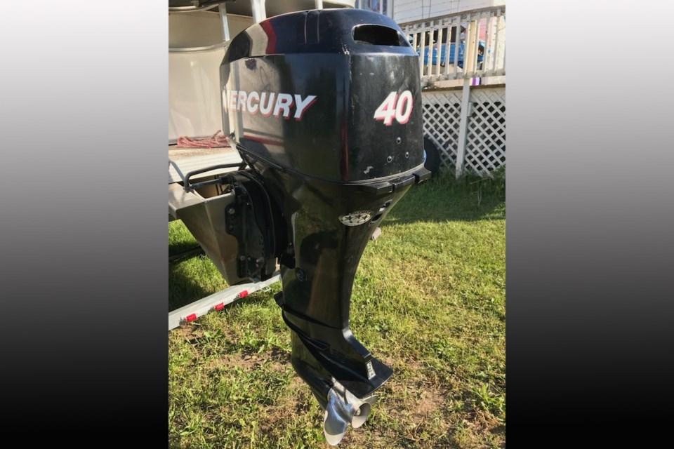 2021-06-10 stolen boat motor OPP