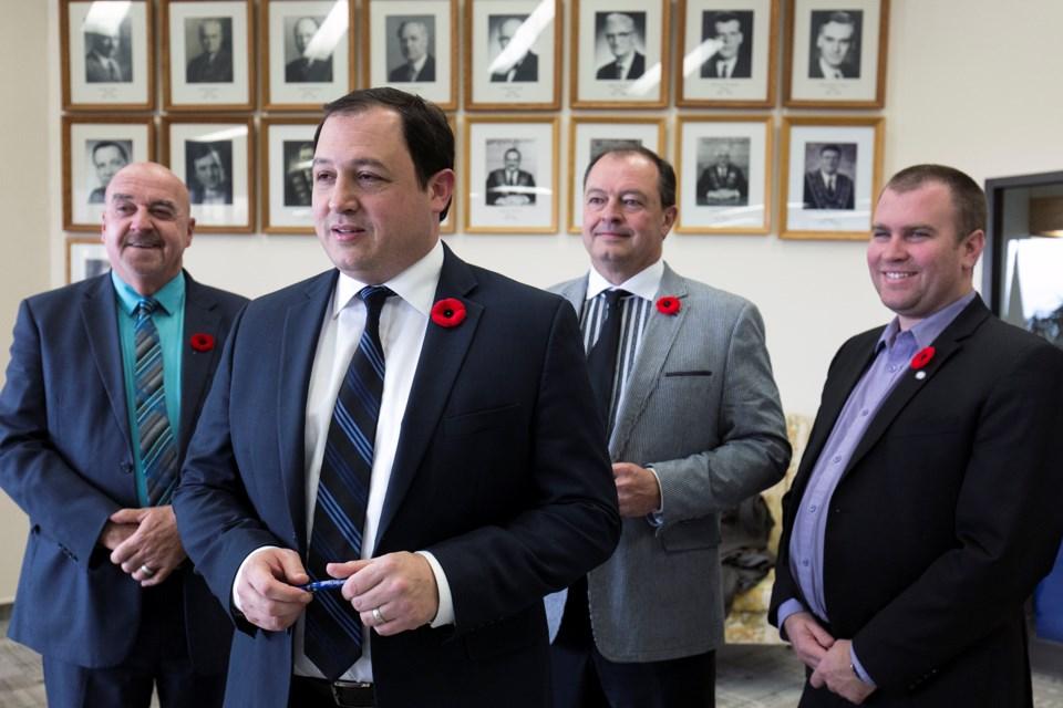 20161102 NOLUM Northern Ontario Mayors KA