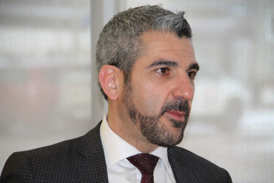 20191115-Sault MPP Ross Romano-DT