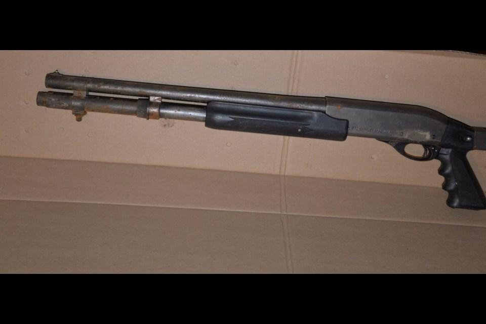 Shotgun seized during Albert St. W. investigation