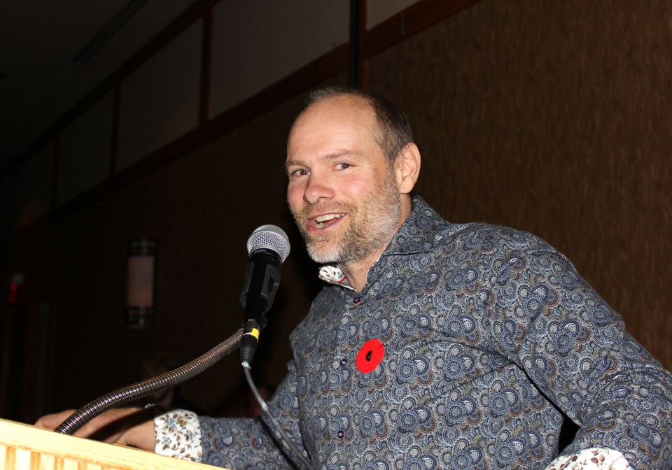 20191107-Sean Ruppel Tourism Sault Ste. Marie awards photo supplied