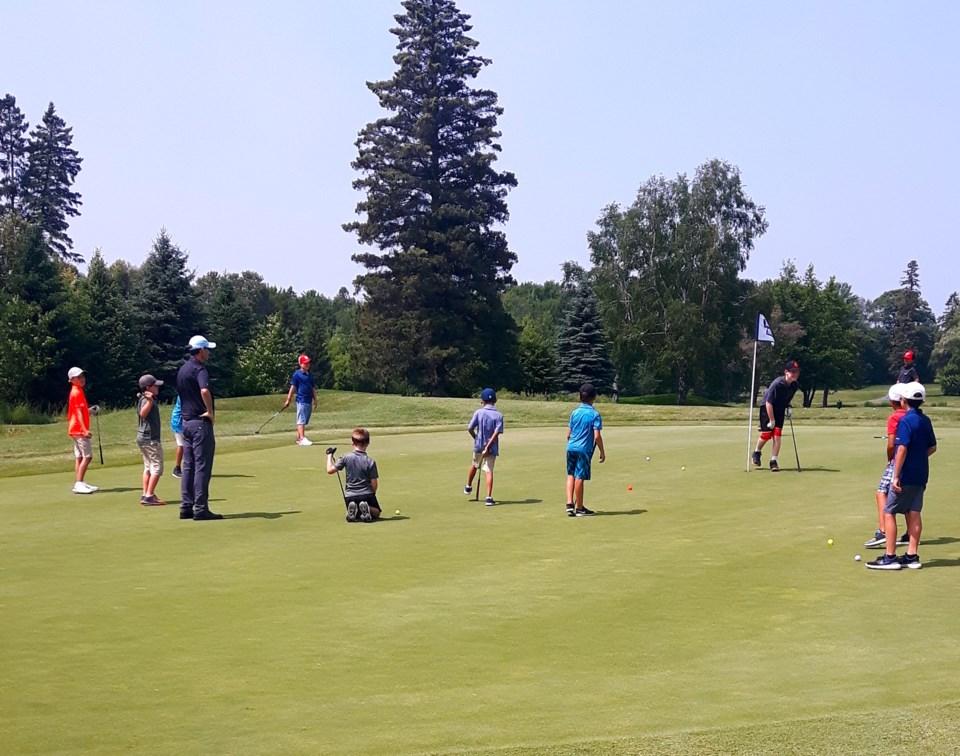 20200720Junior Golf Camp