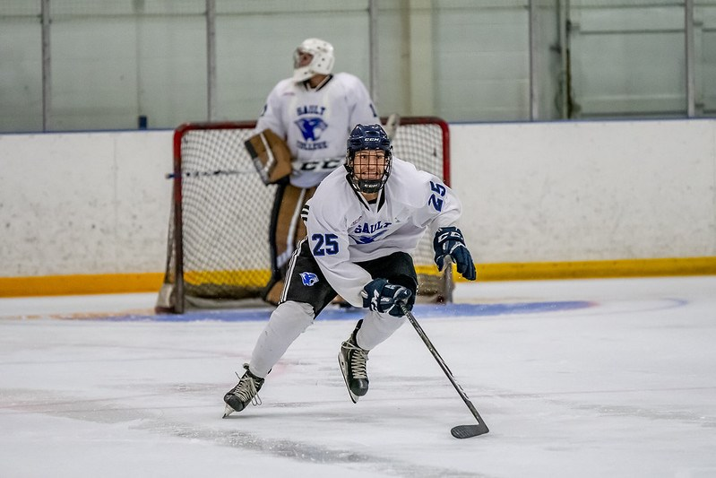 2019-10-09 Sault College men's hockey