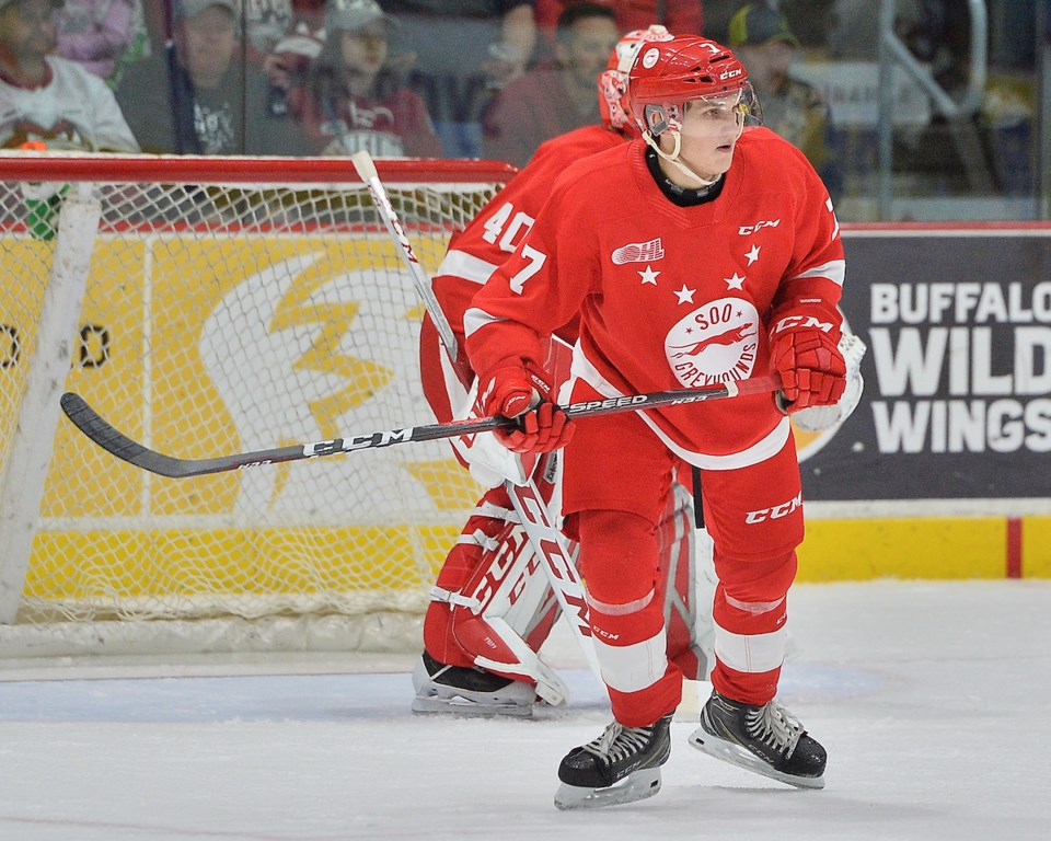 2019-10-26 Drew Wawrow OHL Images TW