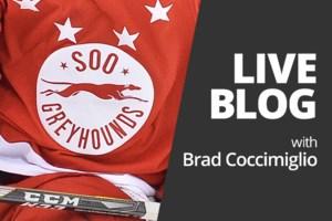 <b>Live Blog:</b> Soo Greyhounds at Kitchener Rangers