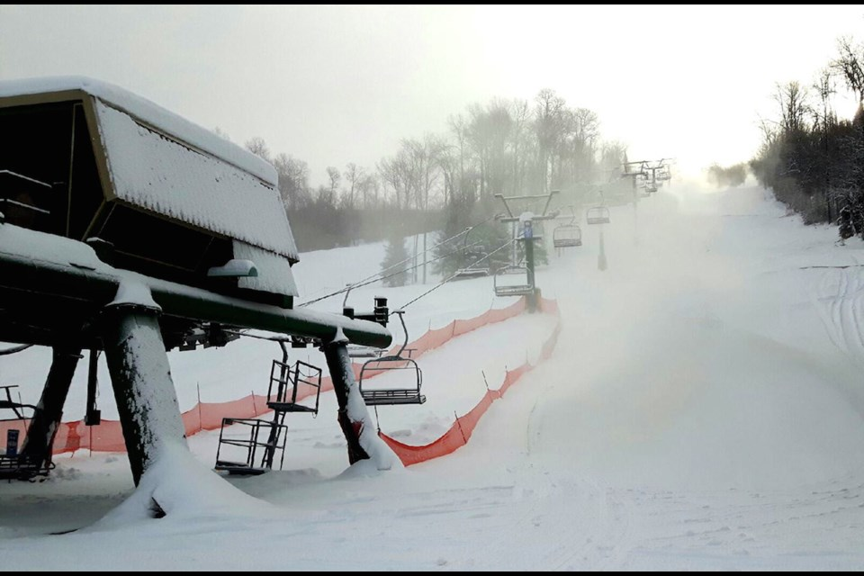 The Quad lift at Searchmont Resort. Photo provided