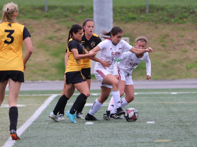 2019-09-14 Algoma Women's Soccer vs. Waterloo BC
