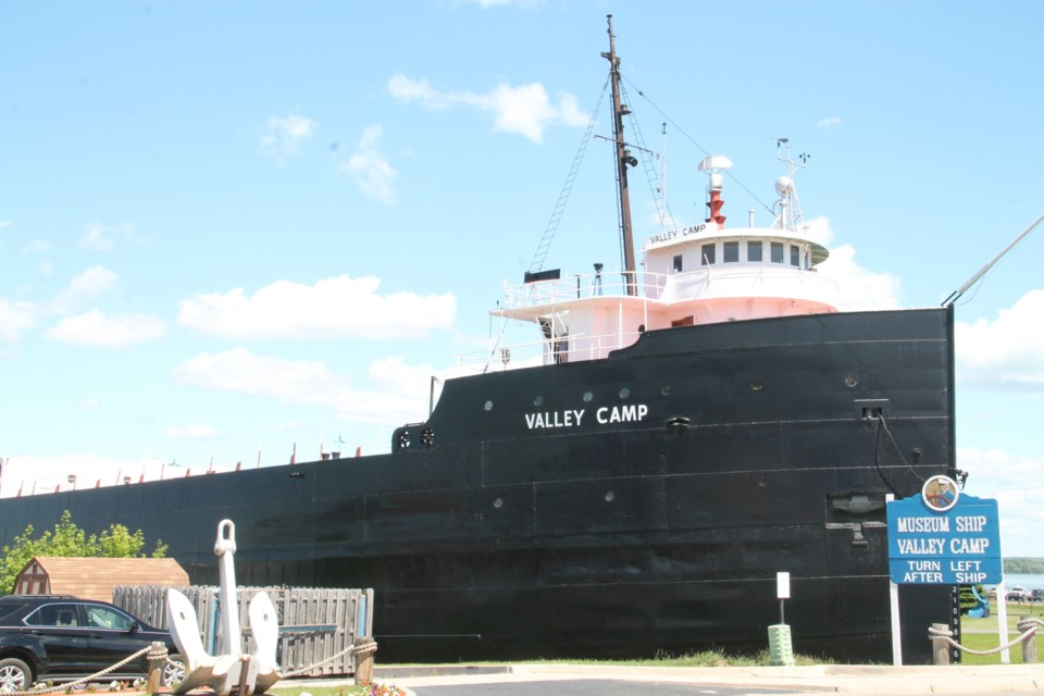 Museum Ship Valley Camp in Sault Ste. Marie, Michigan.  Darren Taylor/SooToday