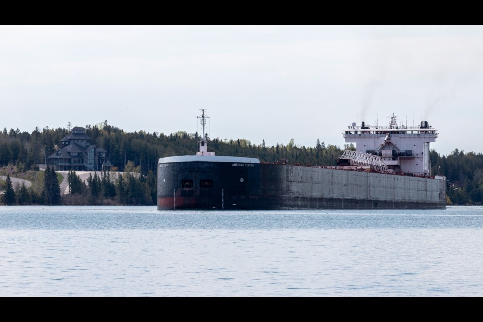 American Century upbound to  Sault Ste Marie. May 16, 2021.