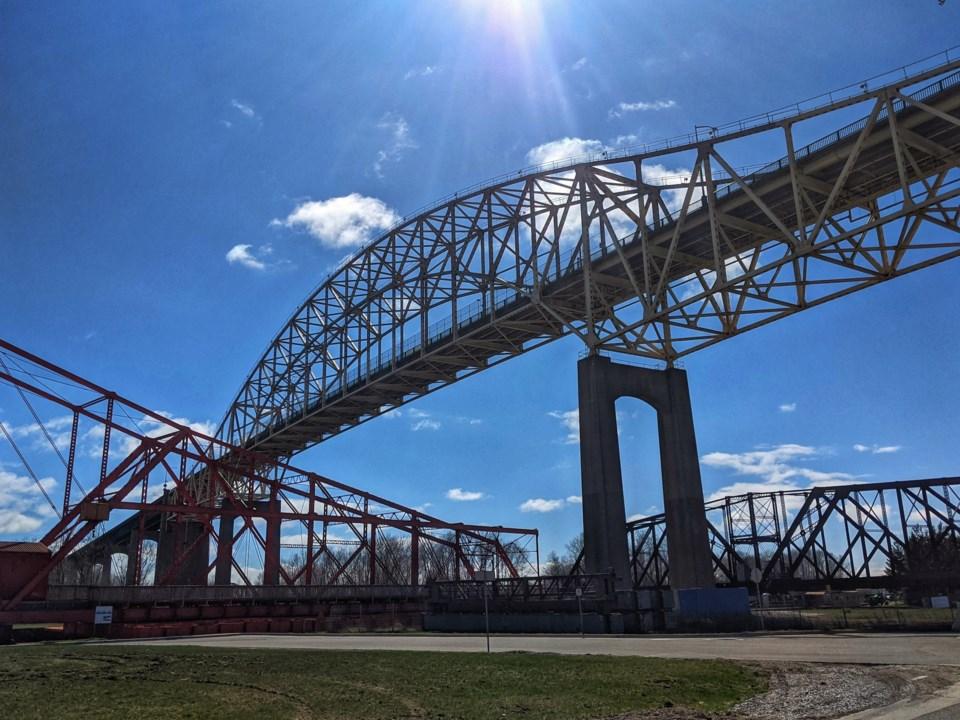 2021-05-02 Sault Ste Marie International Bridge DMH 1