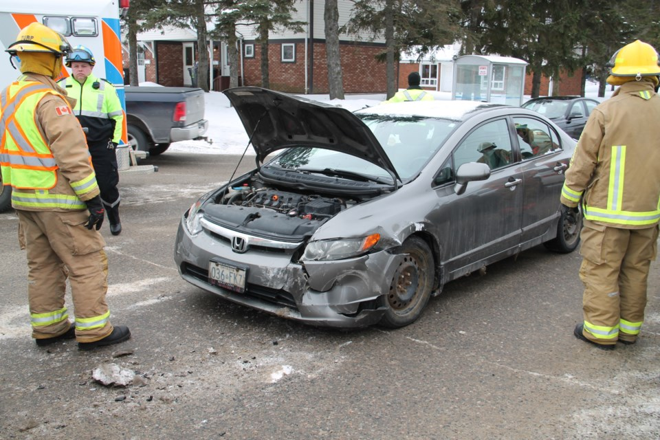 Police Divert Traffic At McNabb Street Accident No