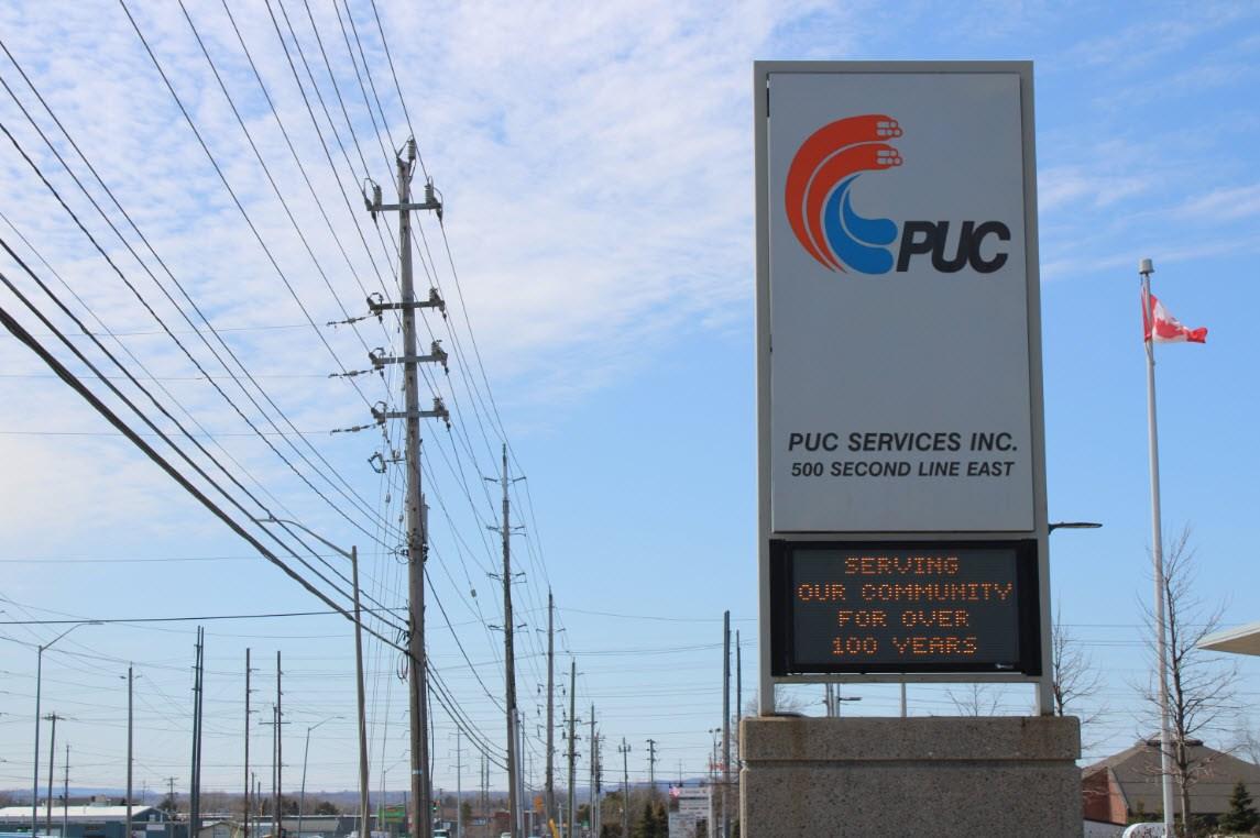 PUC points warning concerning door-to-door gross sales