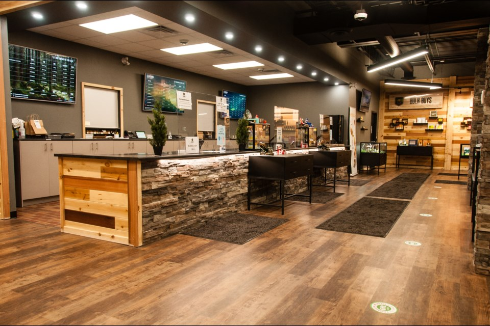 Recently opened, Due North Cannabis offers a uniquely northern experience (submitted photo)