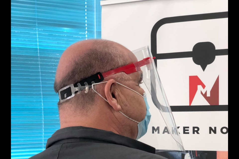 Maker North: PPE production for SAH