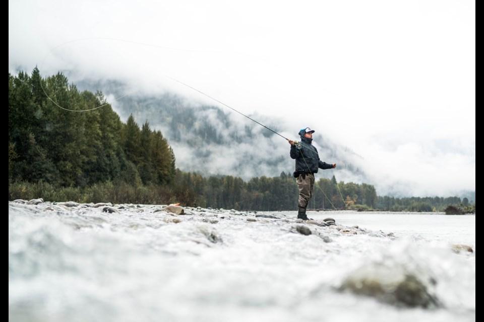 Fishing guide Yos Gladstone, of Chromer Sport Fishing.