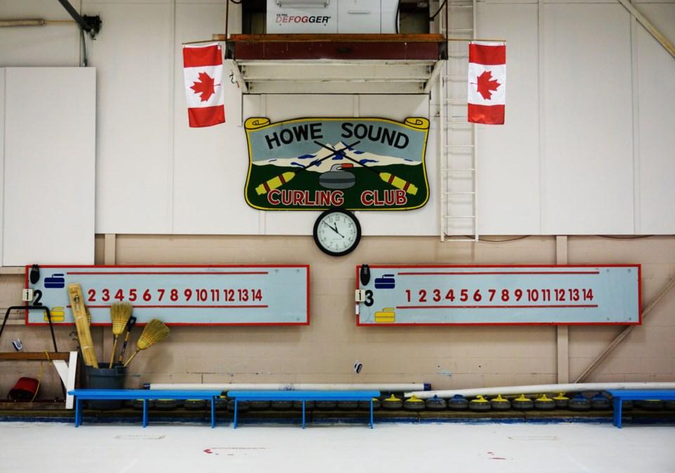 Curling rink_close up Squamish