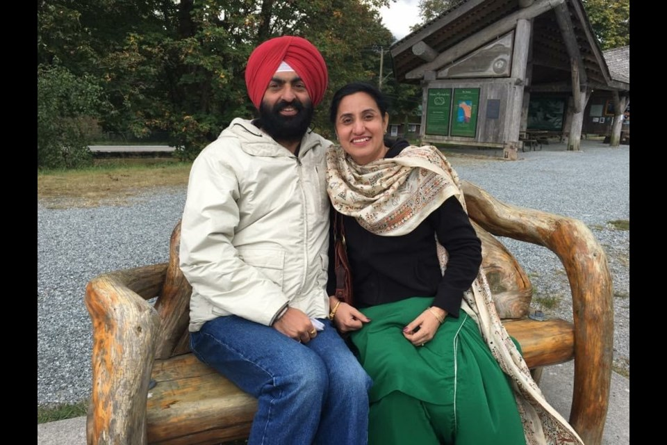 Jasdeep Grewal's sister and brother-in-law visited Squamish in the past. They live in India and, like so many there, are now enduring an overwhelming third wave of COVID-19.