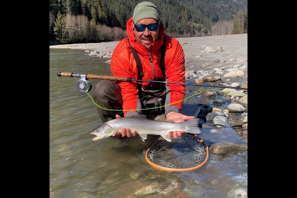Fishing guide Yos Gladstone sees all kinds of wildlife in the Squamish Valley.