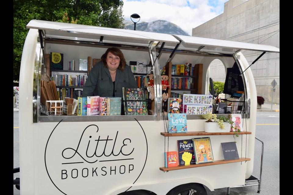 Julie Wilkins, owner of the Little Bookshop.