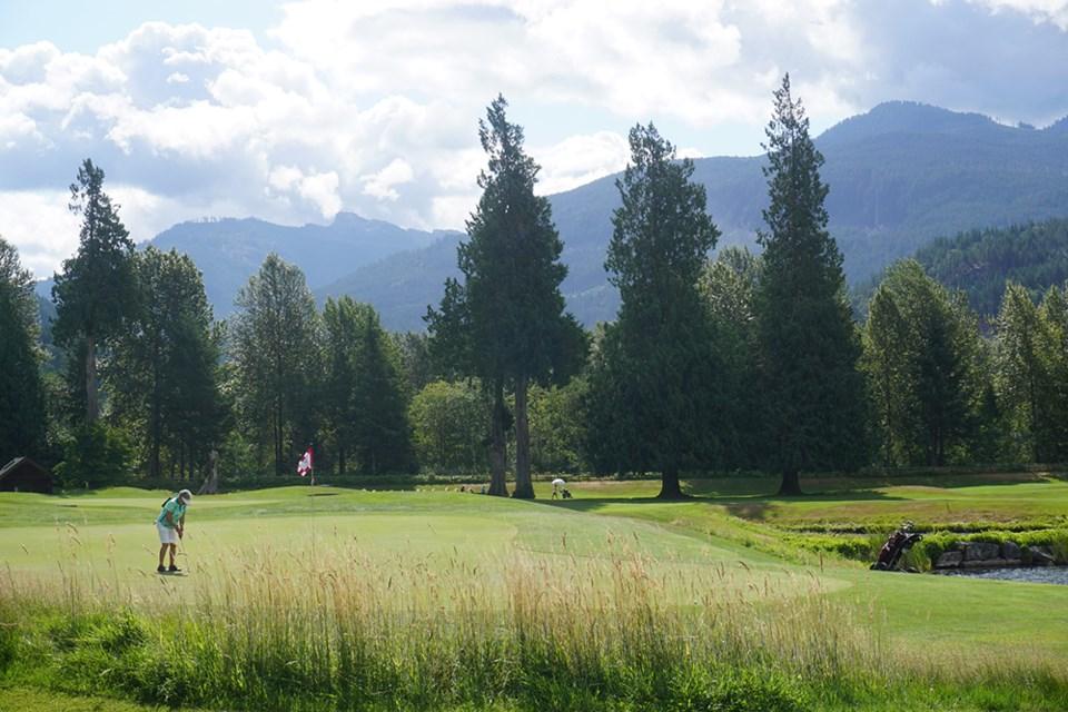 Squamish Valley Golf Club.
