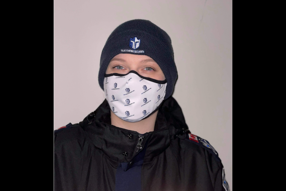 Stephanie Sturgess - CEO and security guard, Blue Empire Security.