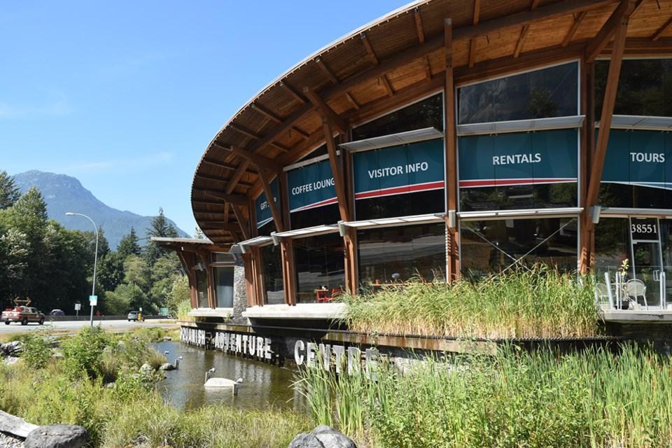 Squamish Aventure Centre Aug. 11