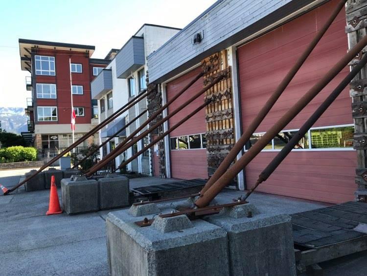 Squamish Tantalus old fire hall