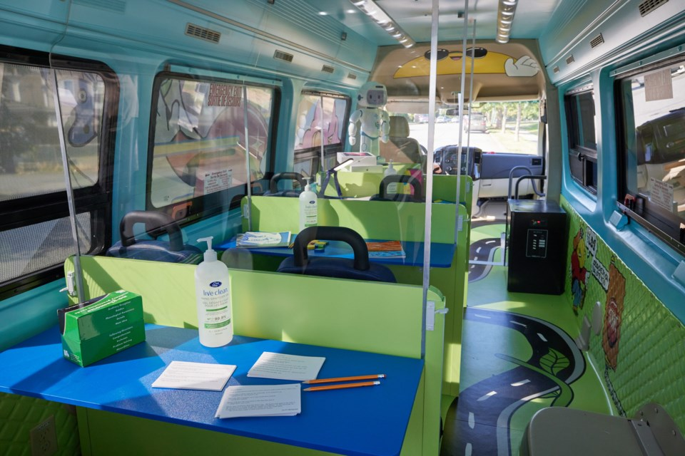 Inside the LDS Access bus.