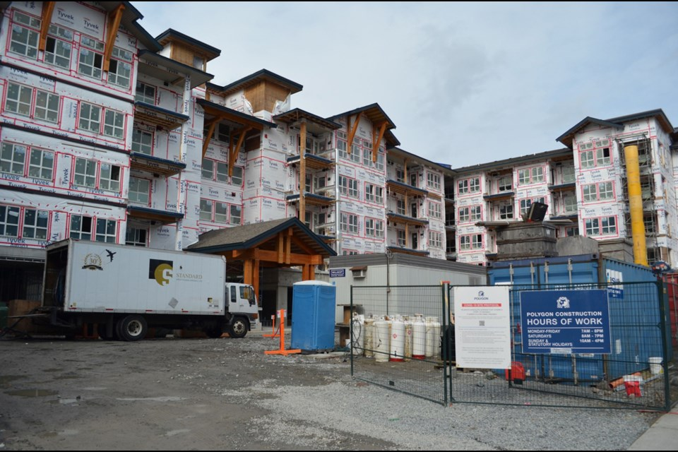 The 232-unit building is expected to open sometime in 2022, and is also receiving $9.5 million from the province and $4.1 million from the District of Squamish.