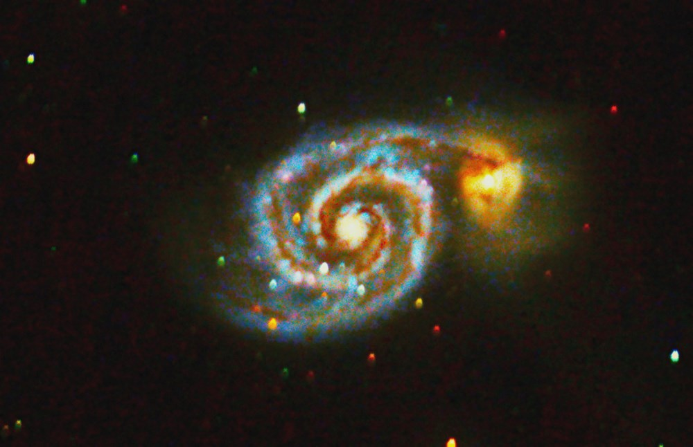 Check out this shot of a Whirlpool Galaxy taken in Squamish