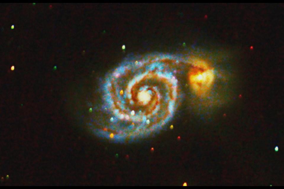 Whirlpool Galaxy.
