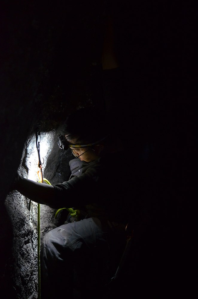 Eric Tran climbing 2