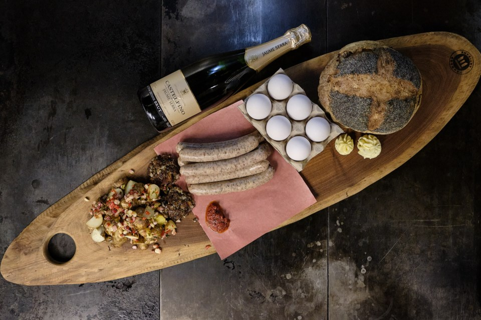 A brunch kit from Edmonton's RGE RD restaurant. Photo supplied
