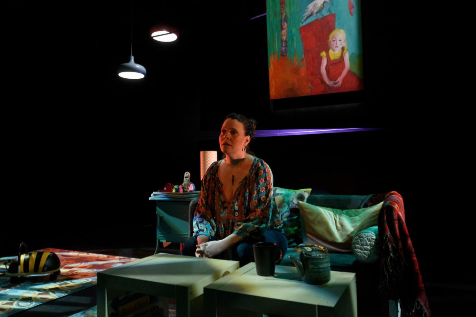 Vanessa Sabourin tackles the subject of abortion in Northern Light Theatre's North American premiere of 19 Weeks running until April 13. EPIC PHOTOGRAPHY/Photo