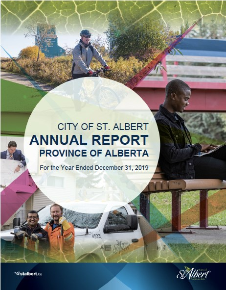 Take a good look at this gold star annual report. The City of St. Albert has won the Canadian Award for Financial Reporting by the Government Finance Officers Association of the United States and Canada (GFOA) for the 19th year in a row.