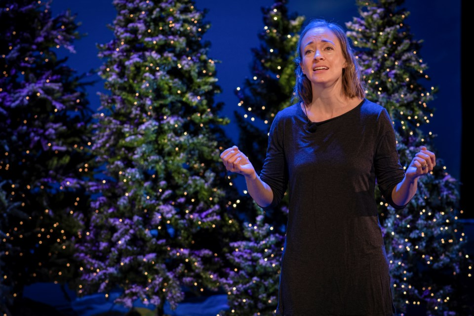 St. Albert Children's Theatre alumna Jenna Dykes-Busby will seing several songs throughout the course of 12 Days of Christmas. SUPPLIED