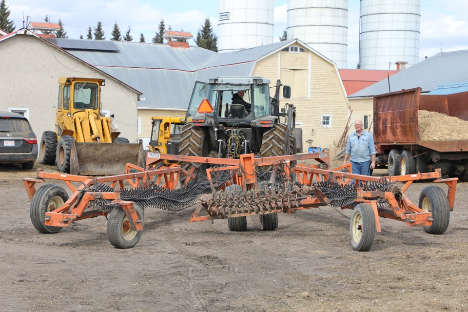 Sturgeon County farmers prepare for an early start to spring seeding courtesy of warm dry weather. JESSICA NELSON/St. Albert Gazette