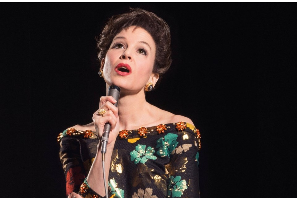 LD ENTERTAINMENT/ROADSIDE ATTRACTIONS/Photo Renee Zellweger plays Judy Garland setting up for her swan song in the acclaimed movie, Judy. It plays on Oct. 26 as Reel Mondays restarts.