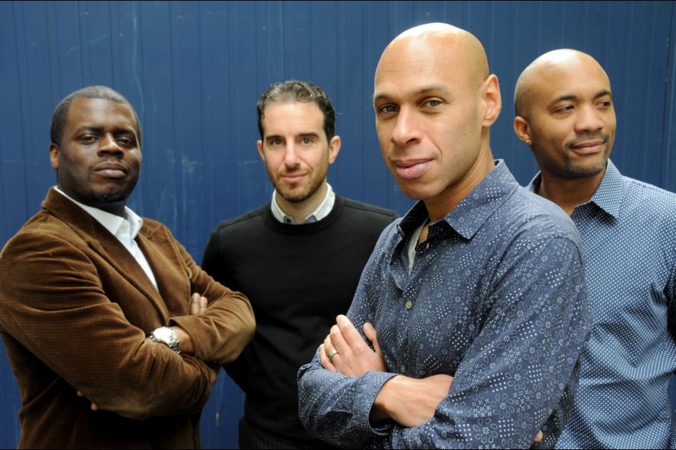 The Joshua Redman Quartet is a featured headliner at the 2019 TD Edmonton International Jazz Festival, which will be held June 21 to 30. Redman, front, Gregory Hutchinson, left, Aaron Goldberg and Reuben Rogrers will perform at the Winspear Centre on June 25.