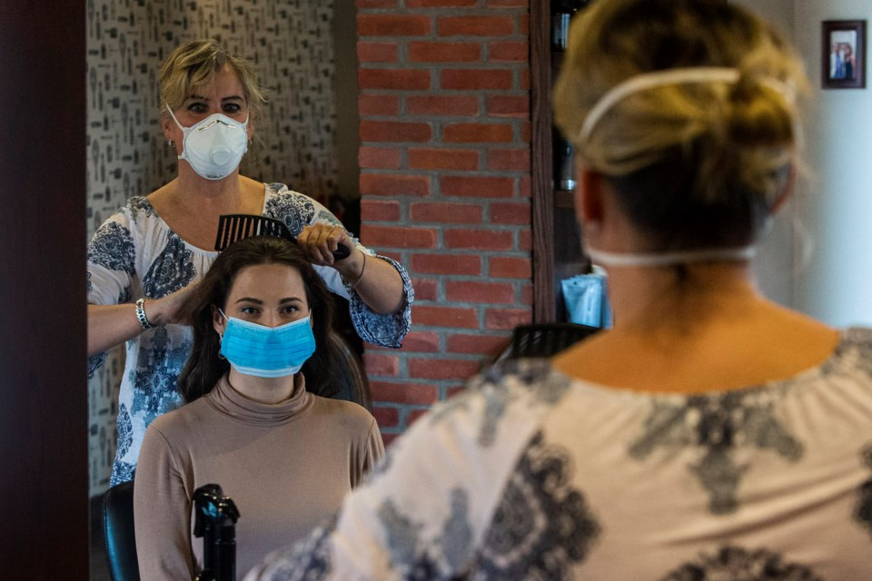 Diane Chong, the owner of Studio 107 in Inglewood and also a veteran stylist, says she is excited to reopen her salon next week, though the new safety procedures for staff and customers will take some getting used to. CHRIS COLBOURNE/St. Albert Gazette