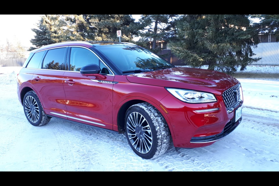 The 2020 Lincoln Corsair is a subdued but elegant vehicle that is well put together and has plenty of extra bells and whistles for a little extra cash. GARRY MELNYK/St. Albert Gazette