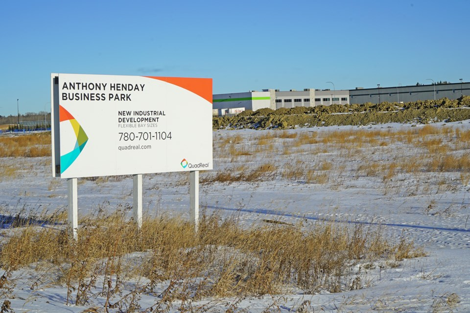 The 101-acre business park in South Riel has seen major investments since construction began in 2014. BRITTANY GERVAIS/St. Albert Gazette