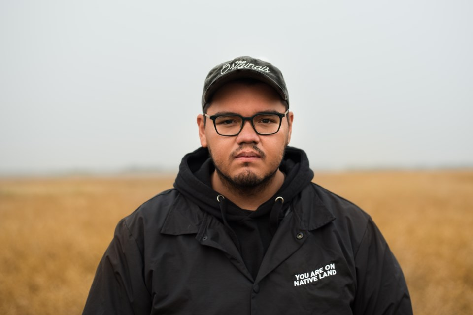VERILY MARIE PHOTOGRAPHY/Photo Seth Arcand is one of nine students – and the only Alberta registrant – for the NSI/CBC New Indigenous Voices filmmaking program. He has big dreams for the education and he's well on his way to making them come true.