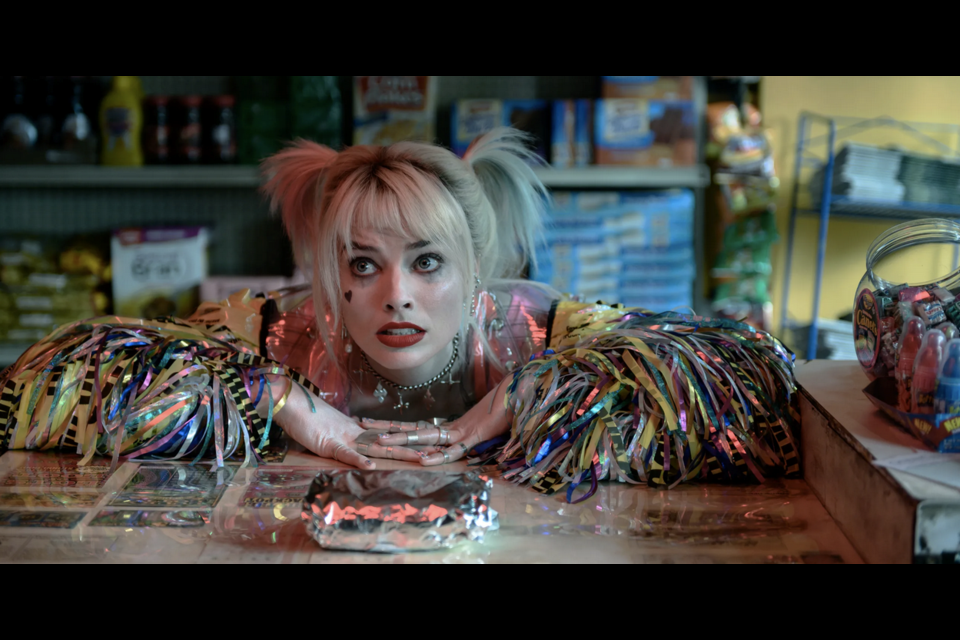 Harley Quinn sure was colourful in her movie Birds of Prey, the sequel of sorts to the Suicide Squad. WARNER BROS/Photo