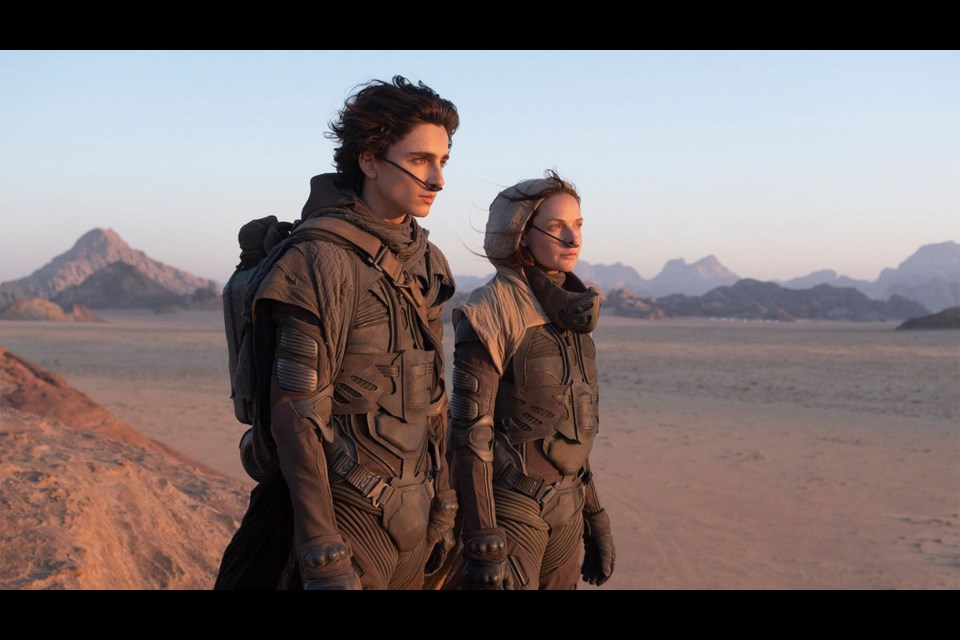 No, they're not looking over the wasteland that was 2020. Denis Villeneuve's big budget star-studded remake of Dune had to be bumped from this past year's calendar, but look for it on the big screen in 2021, fingers crossed.