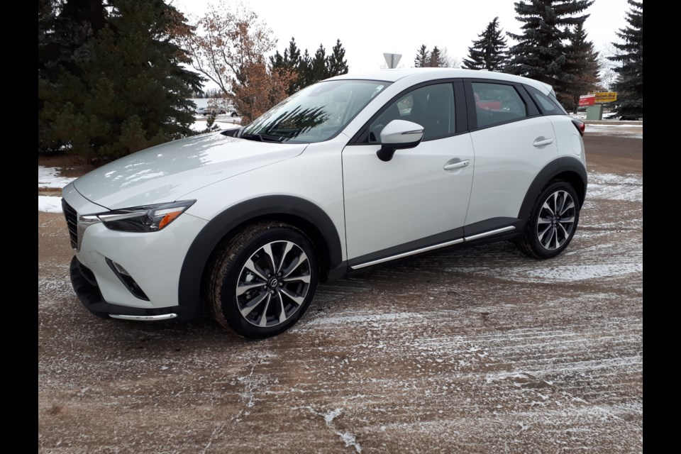 The 2019 Mazda CX-3 looks great, is loaded with all the tech features you want on the inside and technology that makes it safer and more enjoyable to drive. GARRY MELNYK/Photo