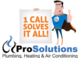 ProSolutions Plumbing, Heating & AC