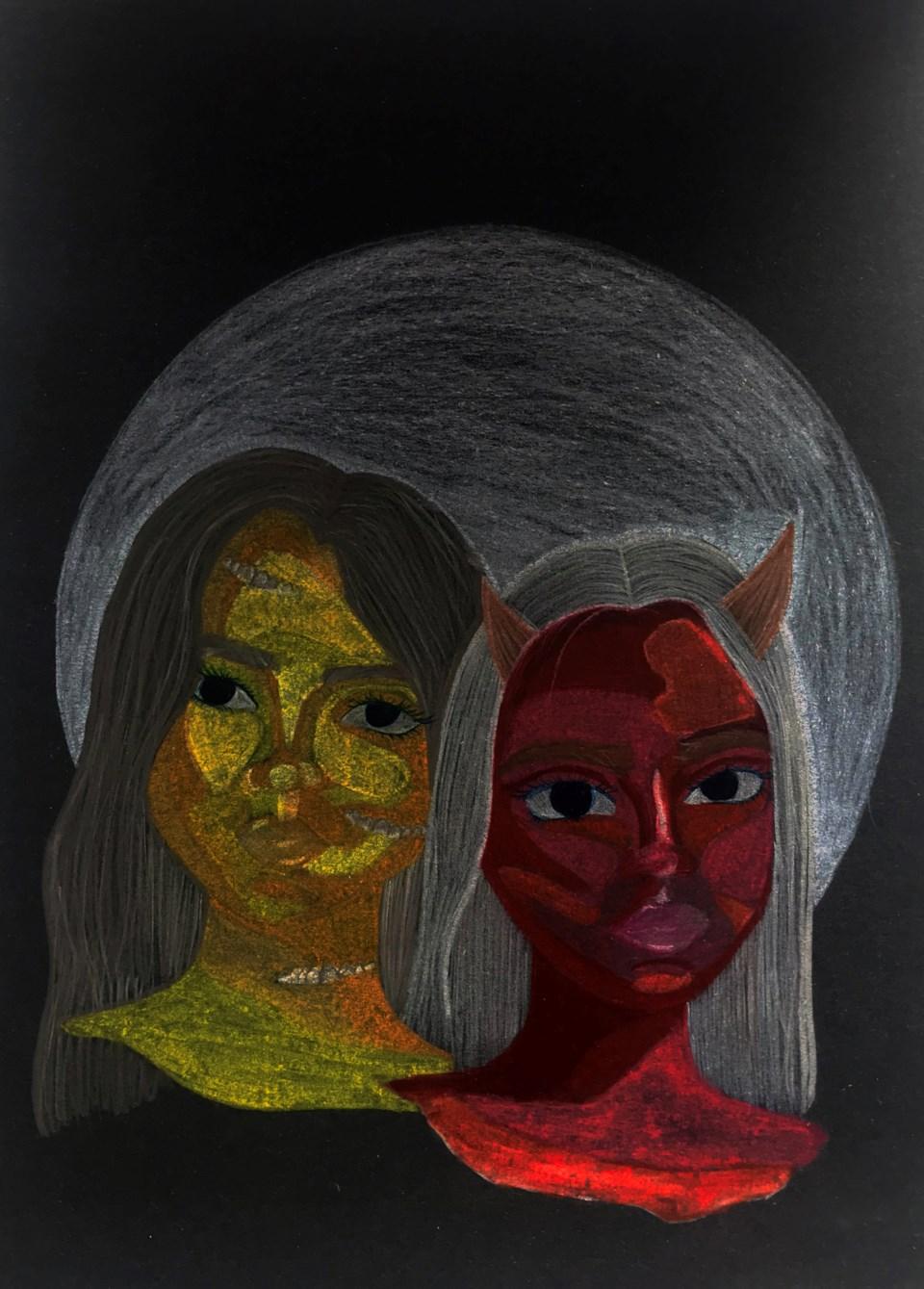 Hana Sombach two heads