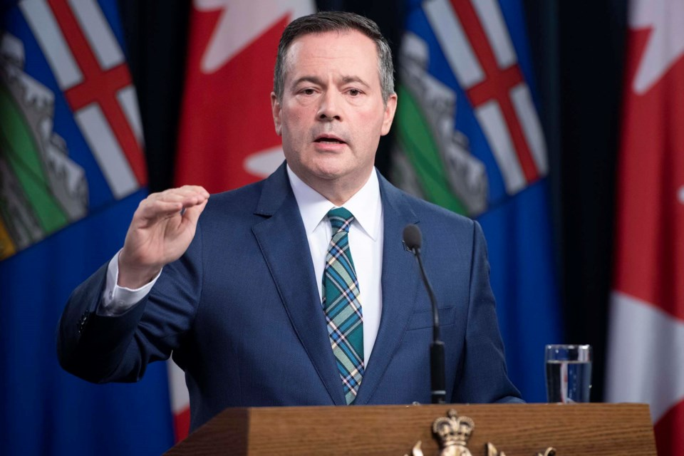 Premier Jason Kenney told a press conference April 12 that a birthday party in Athabasca led to the spread of COVID-19 and the outbreak at Edwin Parr Composite. His office has since said he misspoke about the location.
