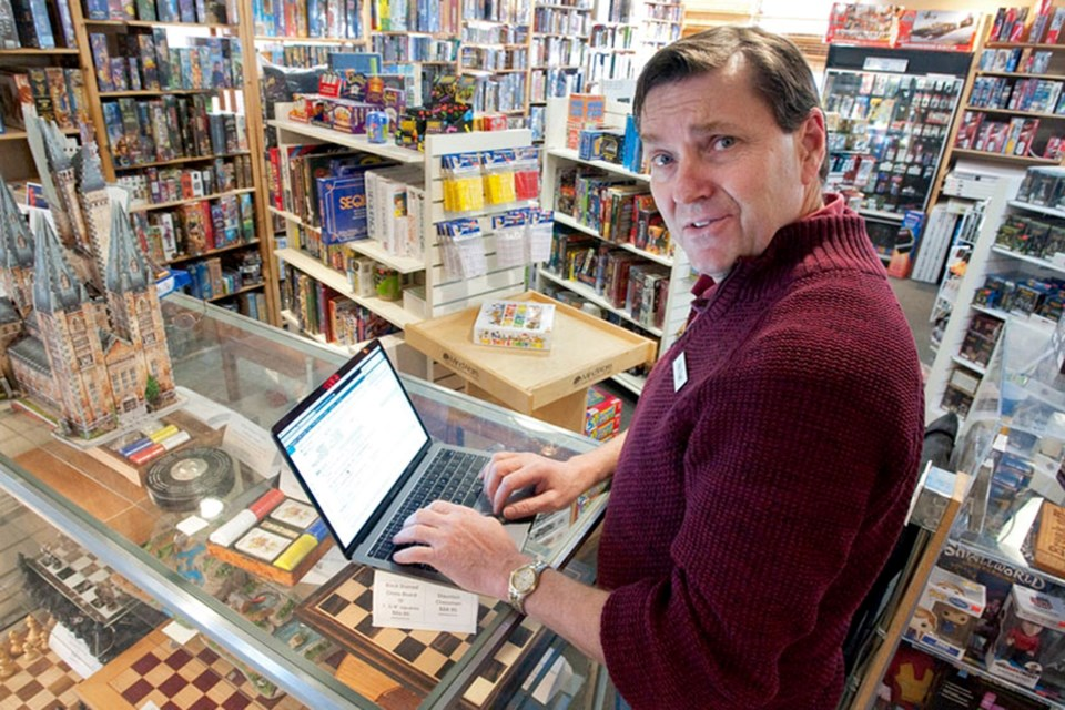 Board game and puzzle sales have climbed by 20 to 50 per cent over the last few weeks, according to John Engel of Mission: Fun and Games in St. Albert. FILE PHOTO/St. Albert Gazette